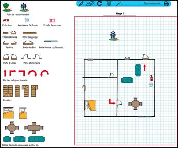 Fabulous Simple Cheap Comment Dessiner Votre Plan Duvacuation De Votre  Maison Cliquez Sur Ce Plan With Dessiner Votre Maison With Logiciel Plan  Maison ...